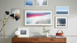 Телевизоры Samsung будут выглядеть как картины на стене