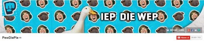 Pewdiepie обложка канала 35 млн. подписчиков