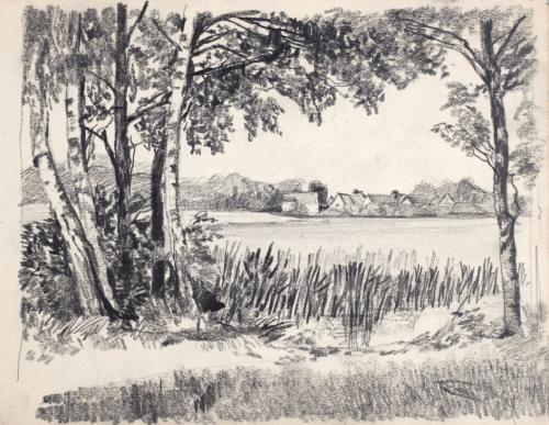 Adolph Eckhardt: Märkische Landschaft