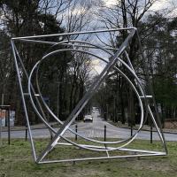 Körber-Skulptur auf dem Goetheplatz, Foto: Volker Tanner