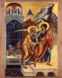 St. Peter saved from Prison