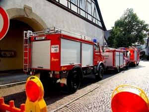 Freiwillige Feuerwehr Hedelfingen Feuerwehrfest Feuerwehr zum Anfassen 11. und 12.7.2015 Stuttgart Hedelfingen