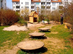 Spielplatz Klara-Neuburger-Straße Stuttgart Riedenberg