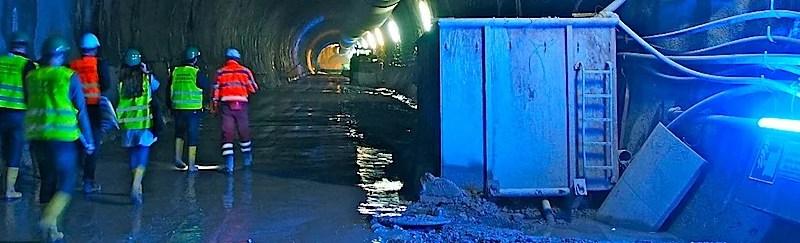 Beate-Tunnel S21 Zwischenangriff Ulmer Straße Stuttgart-Wangen 22.9.2016