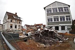 Abriss Schillerschule