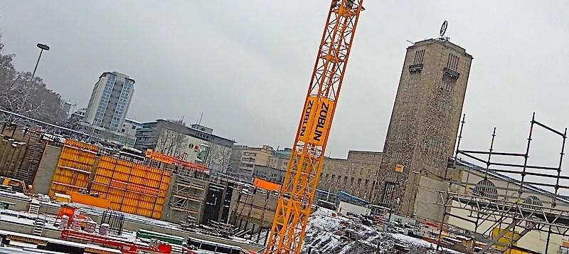 Tage der offenen Baustelle am Stuttgarter Hauptbahnhof 6.-8.1.2017