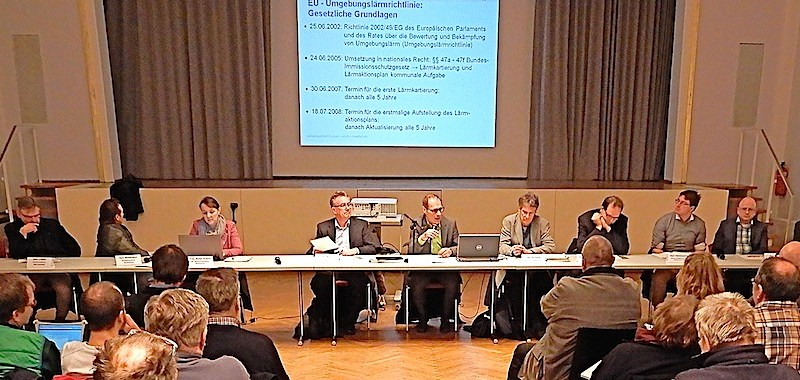 Lärmaktionsplan Stuttgart Fortschreibung 2015 Bezirksbeiratssitzung Bad Cannstatt 8.2.2017