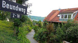 Beundweg Stuttgart Hedelfingen