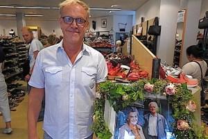 Michael Duffner in seinem Geschäft