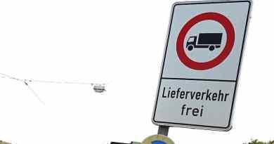 LKW-Durchfahrtsverbot: Nächste Stufe im Abwehrkampf