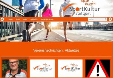 SportKultur Stuttgart hat neue Homepage