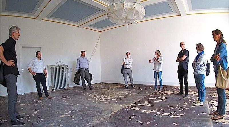 Baustellenbesichtigung Bezirksbeirat Hedelfingen