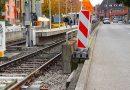 Gleisarbeiten beendet – linke Fahrspur wieder offen