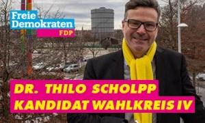Bannerwerbung Thilo Scholpp FDP zur LTW2021