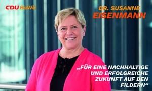 Anzeige Susanne Eisenmann LTW 2021
