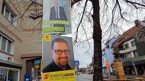 Christof Bolay und Robert Langer wollen am 7.2.2021 zum OB von Ostfildern gewählt werden