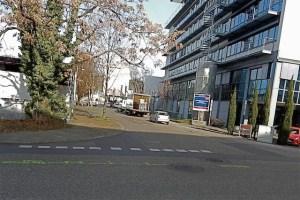Blick von Kesselstraße zu Heiligenwiesen