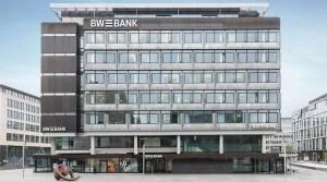 BW-Bank am Kleinen Schlossplatz in Stuttgart