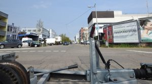Blick von Hedelfingen auf die Kesselstraße Wangen
