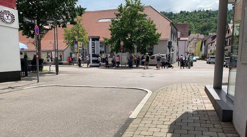Mobiles Impfteam des Robert-Bosch-Krankenhauses in Wangen