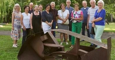 Besuchergruppe der SportKultur Stuttgart im Sommer 2021 bei der Kunstsammlung Domnick in Nürtingen