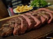 Flatiron Steak (Soho) - Steak, Chips and Salad