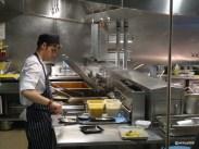 Benares Restaurant (Mayfair) - Large kitchen area