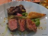 "Benares Restaurant (Mayfair) - ""Gosht Rogan Josh Aur Sunhari Khasta"" (Roasted Rump of Cornish Lamb, Shoulder Samosa, Potato and Broad Beans)"