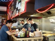 Tommi's Burger Joint - Open kitchen