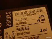 Grillshack - Craft lager, provided by Brewers & Union