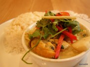 Rosa's Carnaby - Thai Green Curry with Seafood