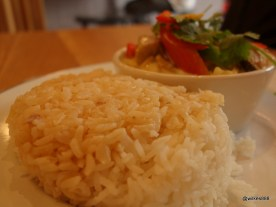 Rosa's Carnaby - Brown rice served as standard