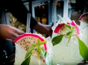 Hutong - Dragon Pearl (Tanqeray 10 Gin, ginger & lemongrass cordial, agave nectar, fresh dragon fruit, anise, basil)