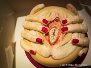 Eat Your Heart Out - Vagina Dentata Cake?
