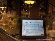 One Canada Square - iPad Interactive Bar Menu