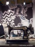 Unexplained sewing machine...