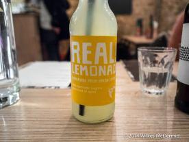 Real Lemonade... none of the false stuff...