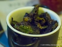 Charred Padron Peppers