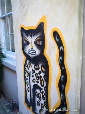 Cat Corner - Outside the Don Julio Tequila Bar