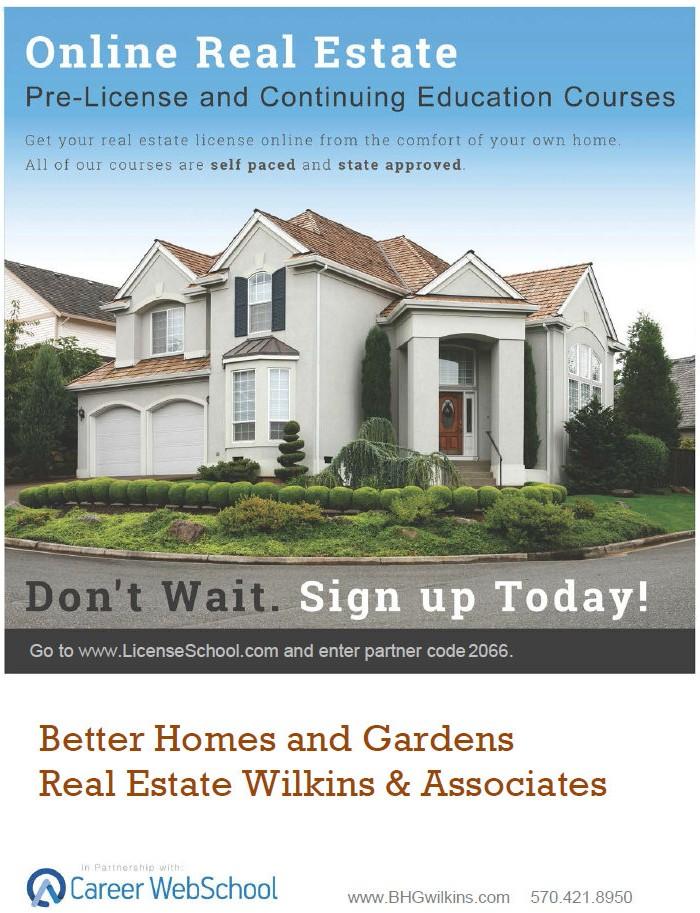 Poconos Real Estate Online Courses