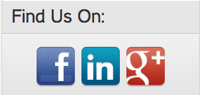 Socialize with us online!