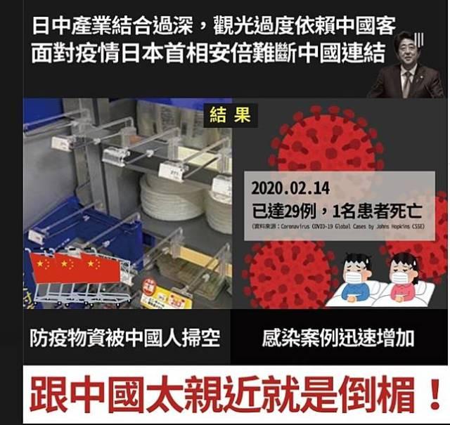 讀者投書》從日本看台灣 蔡英文政府以往為何對中國挑釁不敢強硬?