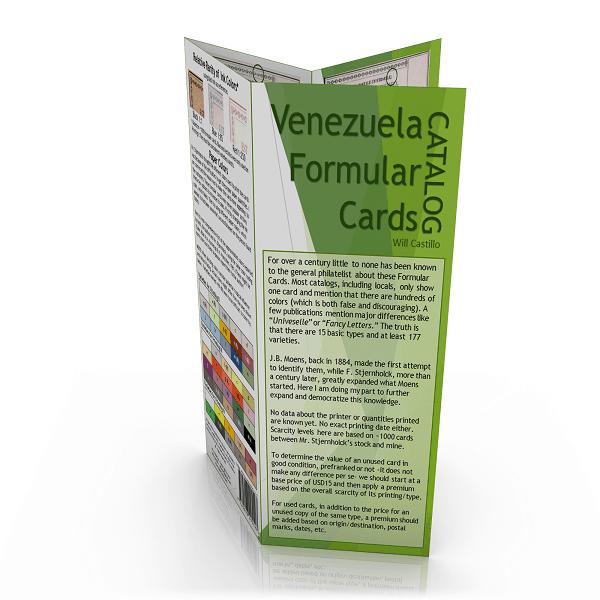 Venezuela Formular Cards Catalog