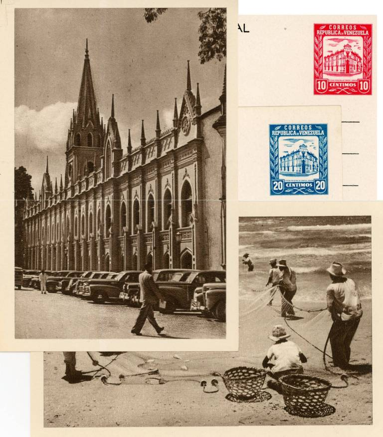 Tarjetas Postales de 1952