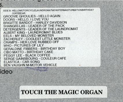 Mix Tape Side B Track List
