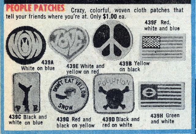 hippie patches