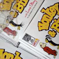 Monkey & Bird Mini-Comic: It's a Folding and Stapling Party!