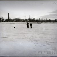 Washington Park upon a Frozen Delaware River