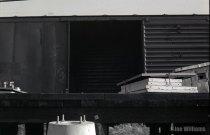Boxcar door