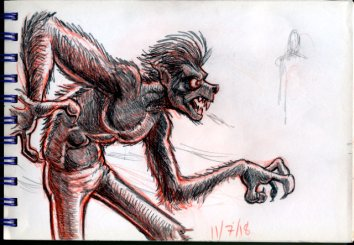 sketch_Werewolf